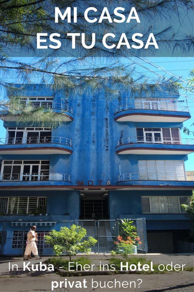 Unterkunft in Havanna, Kuba