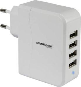 4-fach USB-Ladegerät