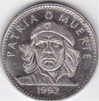 Nationale Währung: 1-Peso-Münze