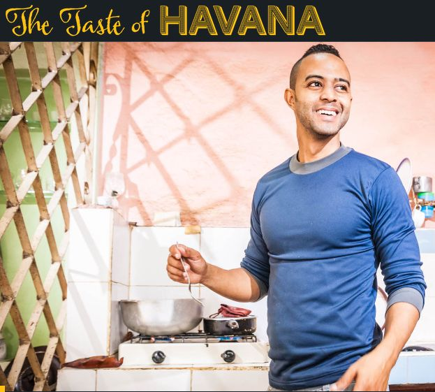 Screenshot: The Taste of Havana - Yoel, der kochende Rapper