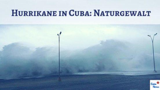 Foto von Hurrikan Irma am Malecón