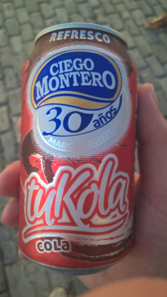 tuKola can - 30 years of Ciego Montero
