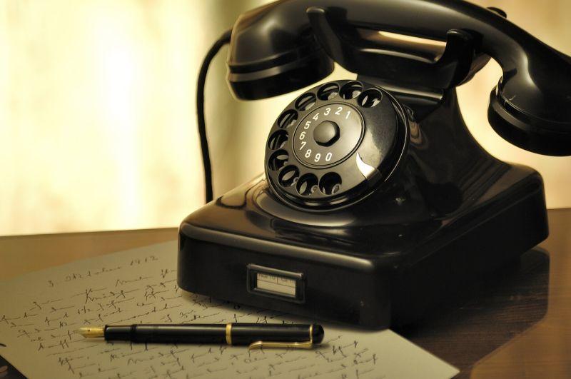 Bild altes Telefon