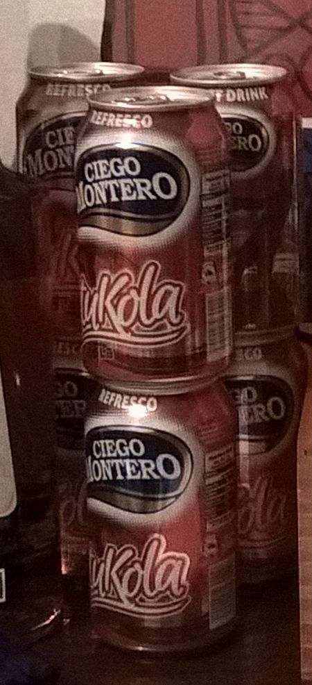 Photo: 6 cans of tuKola that I brought from the Cuba trip