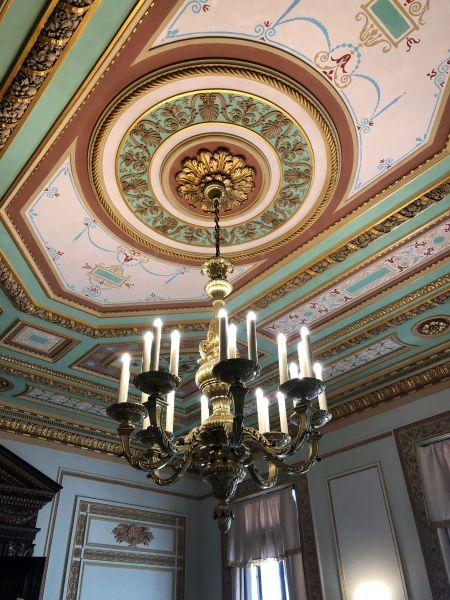 Blick in einen Saal im Capitolio