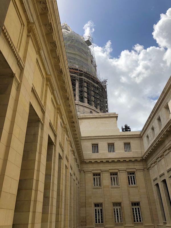 Foto der Kuppel des Capitolio