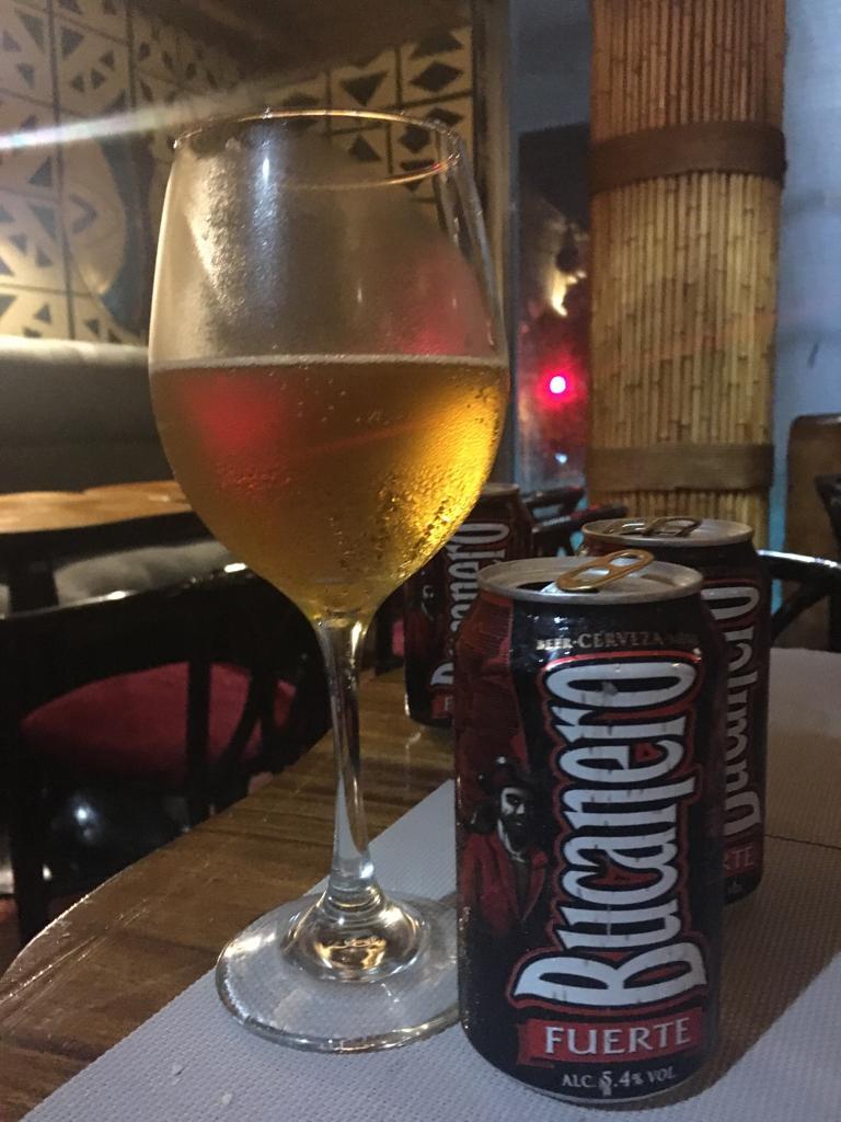 Bild eines Bucanero-Biers