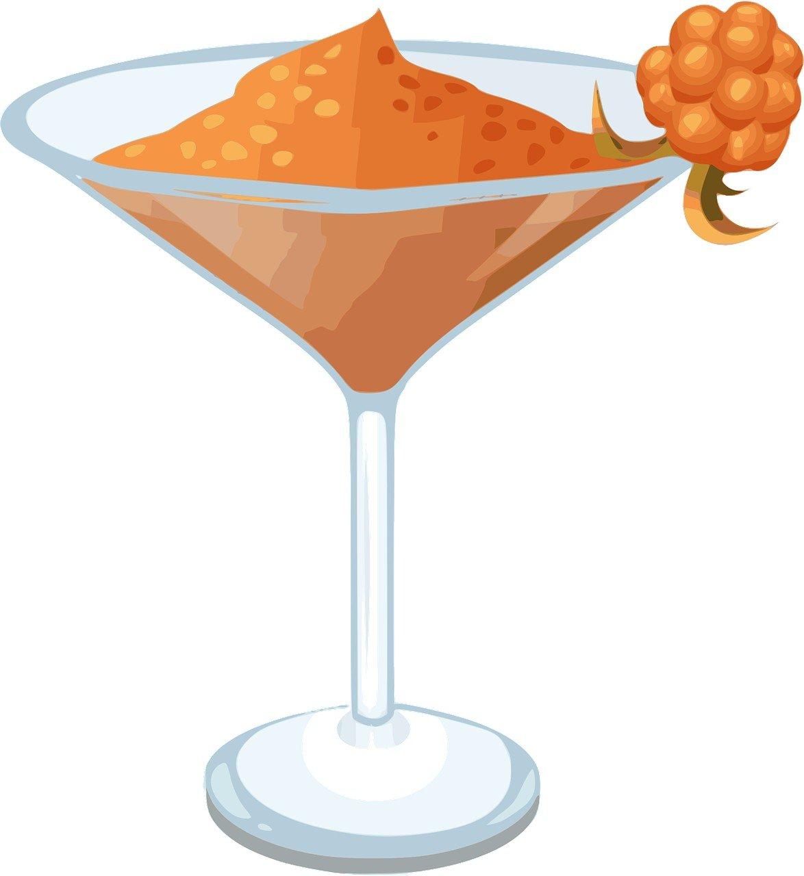 Bild eines Martini-Glases mit Daiquiri