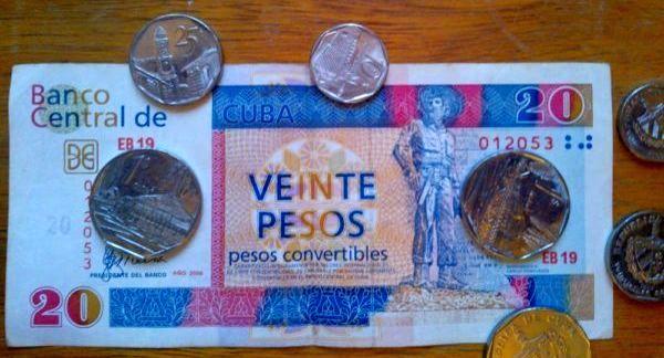 Foto von CUC-Münzen und Scheinen