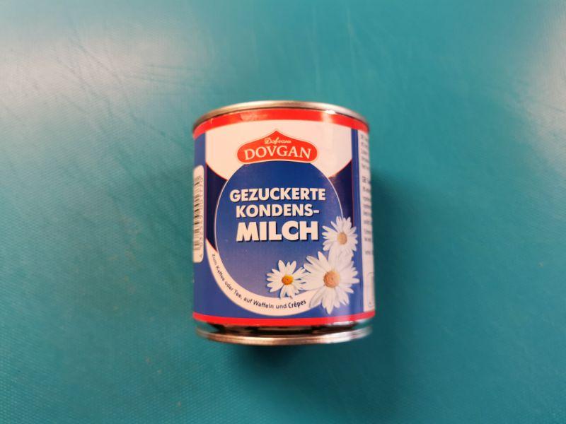 Die einzige Zutat zum Fanguito: süße Kondensmilch